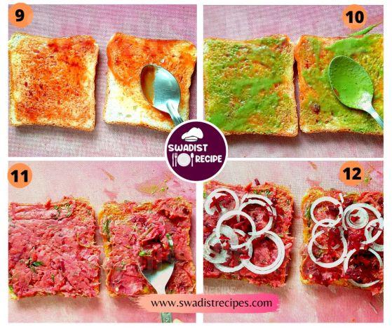 Bombay Masala Sandwich Recipe Step 3