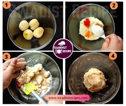 Crispy potato finger Recipe Step 1