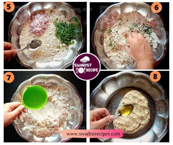 Sindhi Koki  Recipe Step 2
