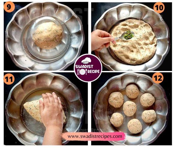 Sindhi Koki Recipe Step 3
