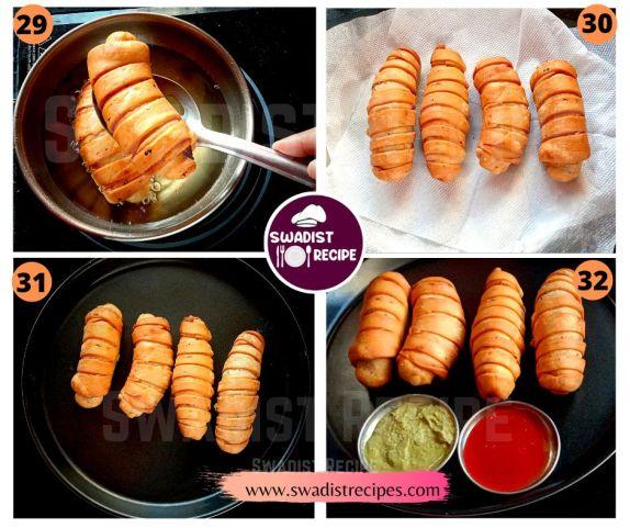 Veg puff roll Recipe Step 8