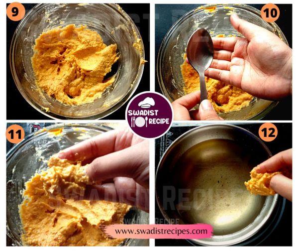 Corn pakoda Recipe Step 3
