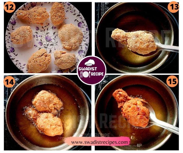 Crisp fried chicken Recipe Step 4