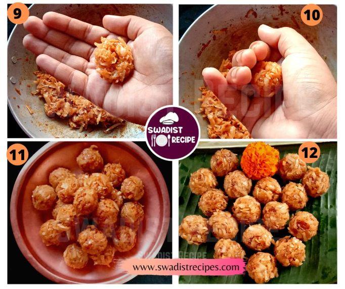 Nariyal ke laddu Recipe Step 3