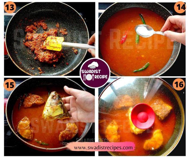 Rui macher jhol Recipe Step 4