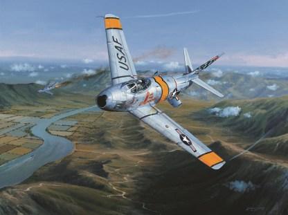Combat Over Korea Sabre
