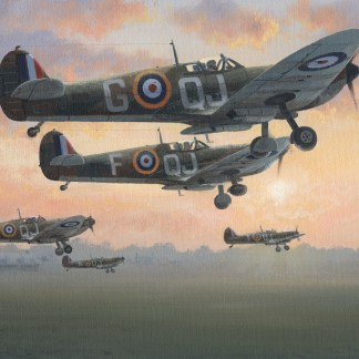 First Light - Battle of Britain July 1940 Spitfire