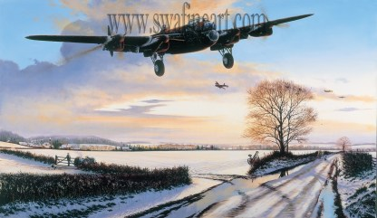 Welcome Home - Avro Lancaster