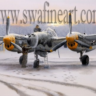 Winter of 44 - P 38 Lightning