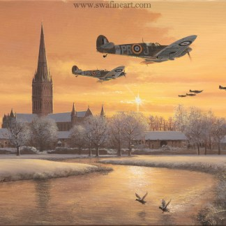 Spitfire From Dawn to Dusk xmas Cards