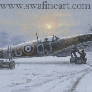 Spitfire Winter of 41 xmas Card