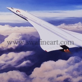 Concorde - The Pride of Britain xmas card