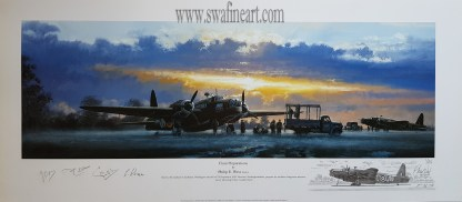 Final Prepations Vickers Wellington Bomber Philip West