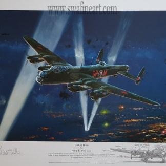 Heading Home Avro Lancaster Philip West