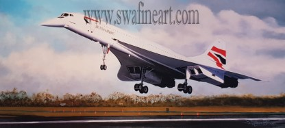 Concorde - The Final Touch Down By Stephen Brown