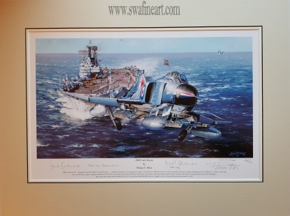 H.M.S Ark Royal A/Proof (Mounted Edition)
