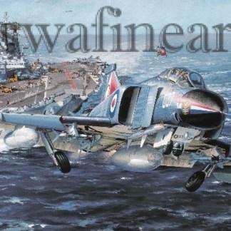 HMS Ark Royal (Greetings Card)