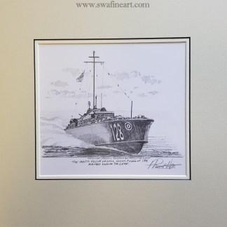 The Malta Rescue Launch original Philip West