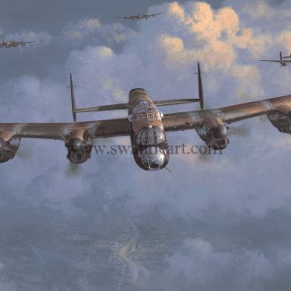 Lancaster Legends in the Air Birthday card