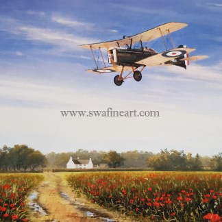 SE5a A Time to Remember greeting card