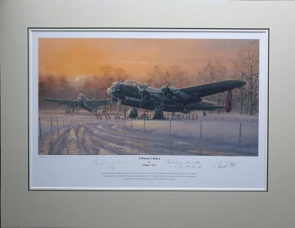 A Winters Dawn Artist Proof Mounted