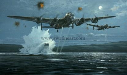Avro Lancaster Dambuster Heroes Aviation cards