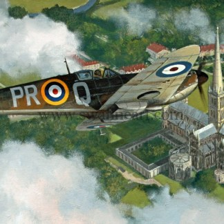 Supermarine Spitfire Inspired Aviation cards