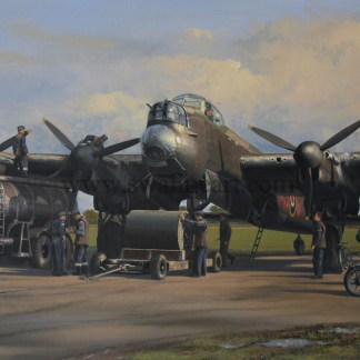 The Dambusters Lancaster Loading Upkeep Aviation cards