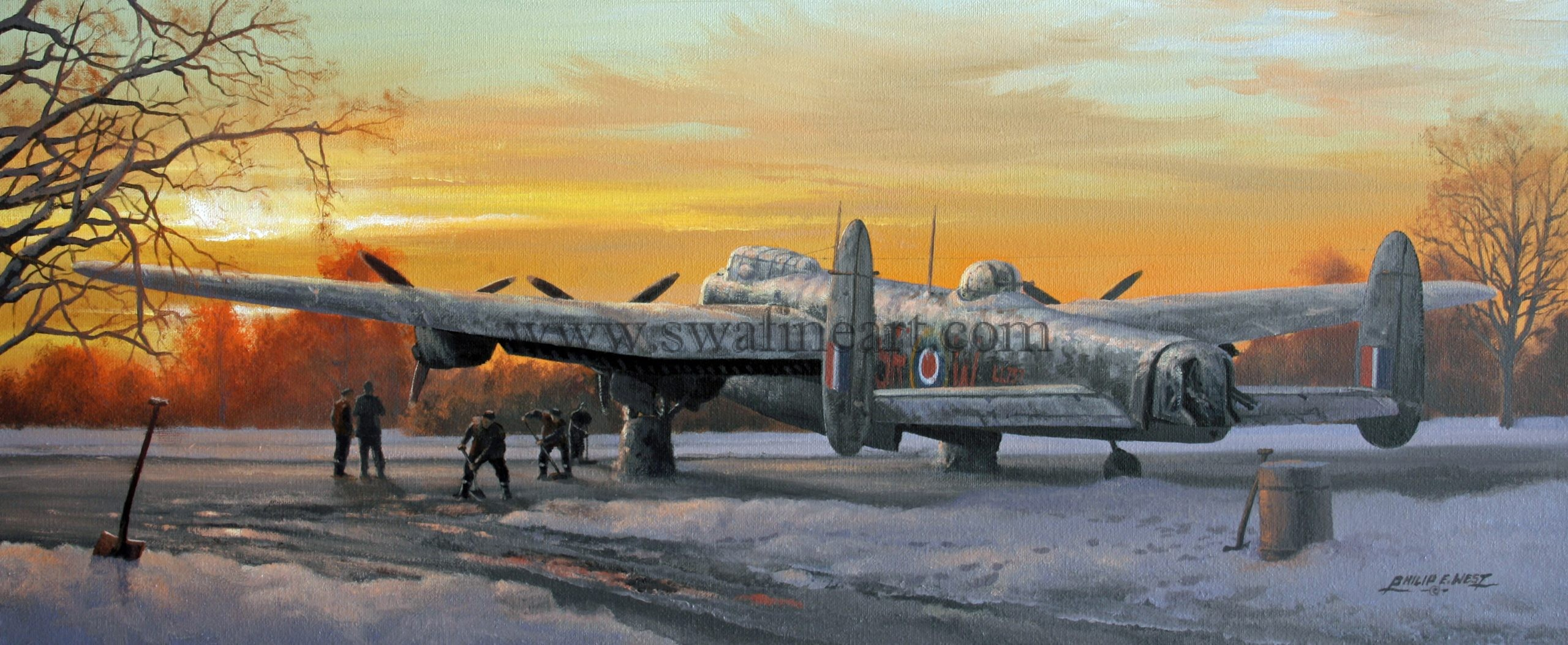 Raf Christmas Cards 2020 Avro Lancaster Winter of 43 Christmas cards RAF Bomber Command