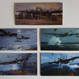 617 Squadron Avro Lancaster Bomber Collection pack of cards