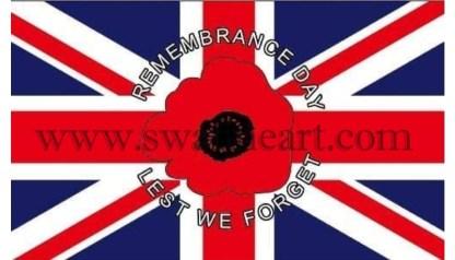 Rememrance Day Lest We Forget Flag