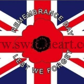 Rememrance Day Lest We Forget Flag