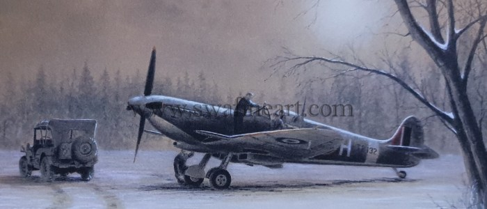 Spitfire in the snow small.