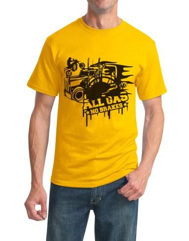 all gas t-shirt