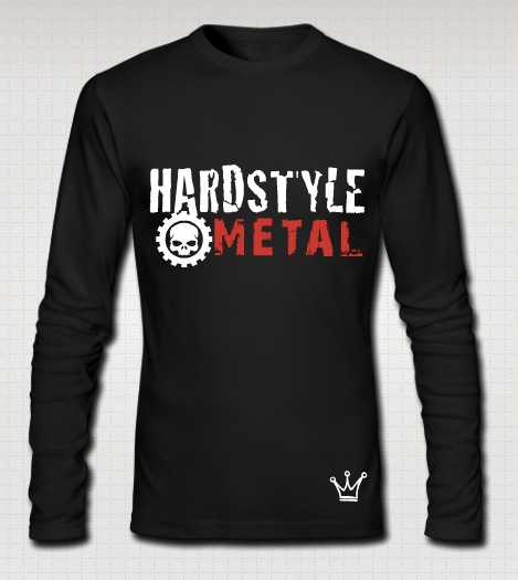 hardstyle metal full black