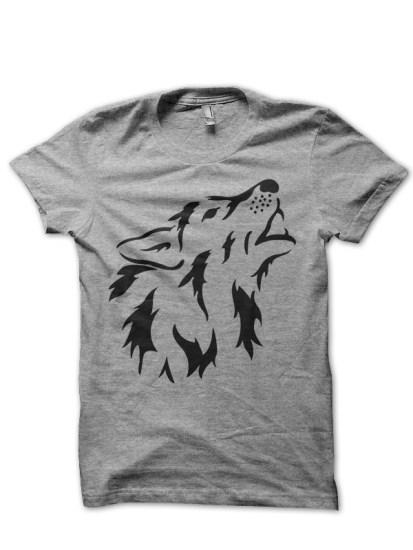 wolf grey tee