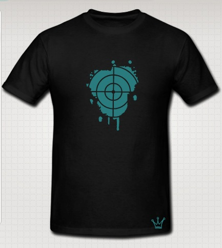 snipper t-shirt black