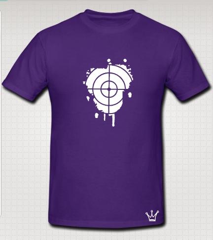 snipper t-shirt purple