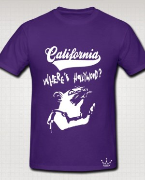 california purple swag shirt