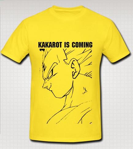 vageta swag yellow t-shirt