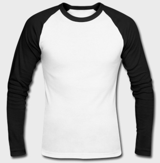 plain raglan full sleeve tshirt