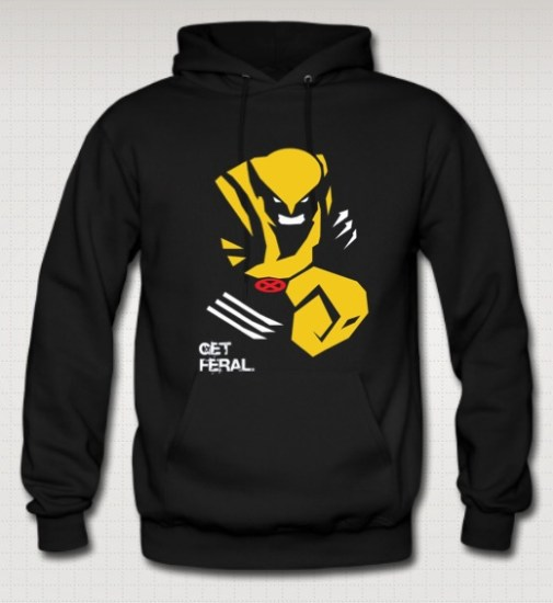 Wolverine x-men sweatshirt
