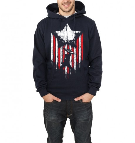 american patriot navy blue hoodie