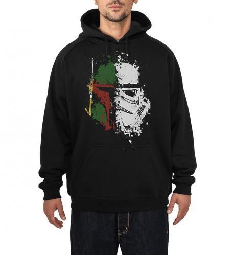 bounty trooper black hoodie