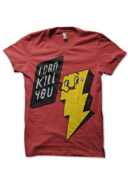 i can kill red tshirt