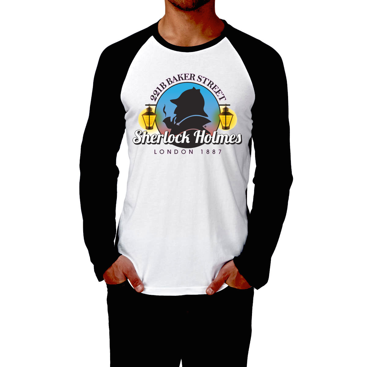 Sherlock Holmes Full Sleeve T Shirt Online Part 1