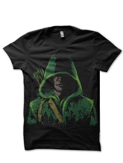 arrow black tshirt