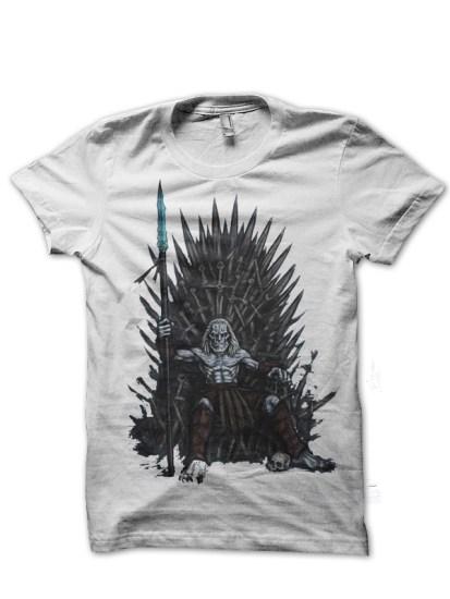 waker throne white tee