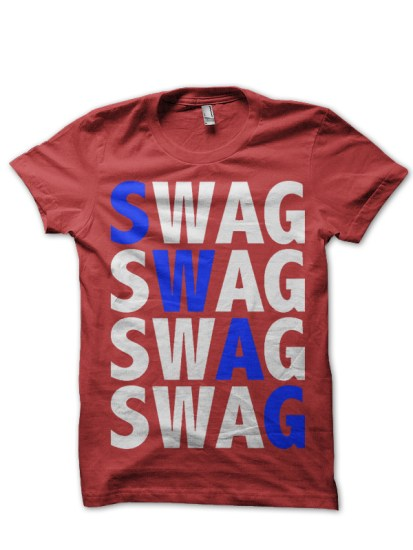 swag red teee