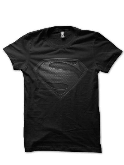 superman black tee 2